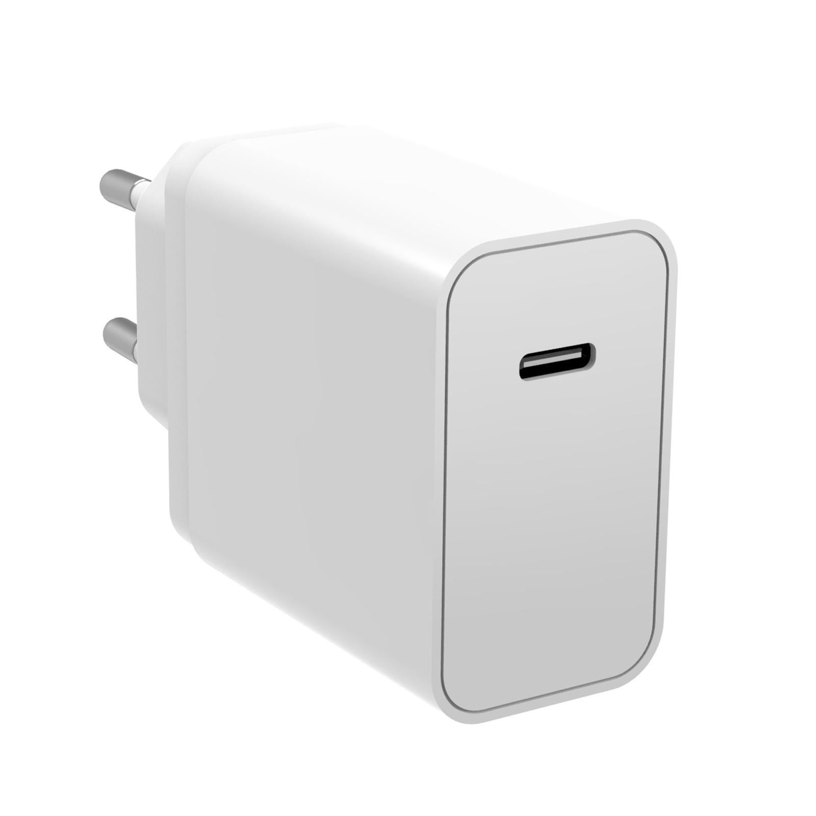 Power Delivery Laddare 30W USB-C Vit