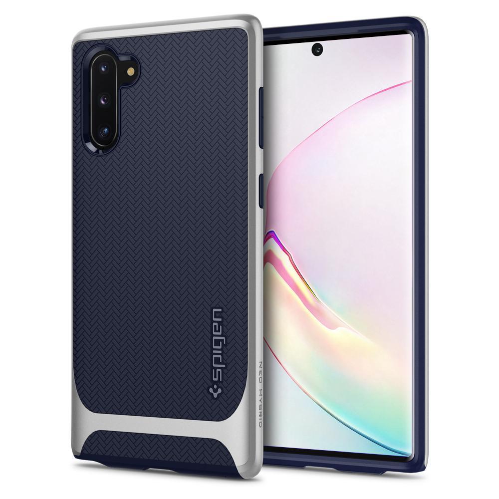 Galaxy Note 10 Case Neo Hybrid Arctic Silver
