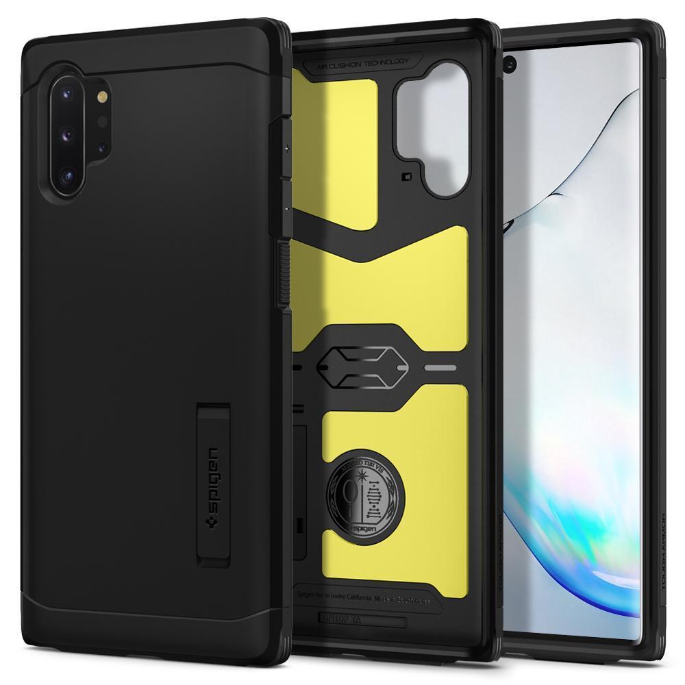 Galaxy Note 10 Plus Case Tough Armor Black