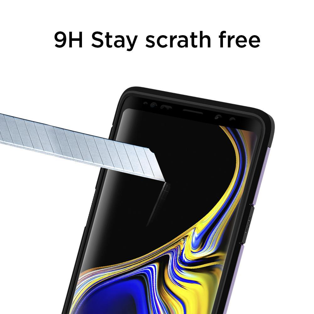 Galaxy Note 9 Screen Protector GLAS.tR Curved Glass