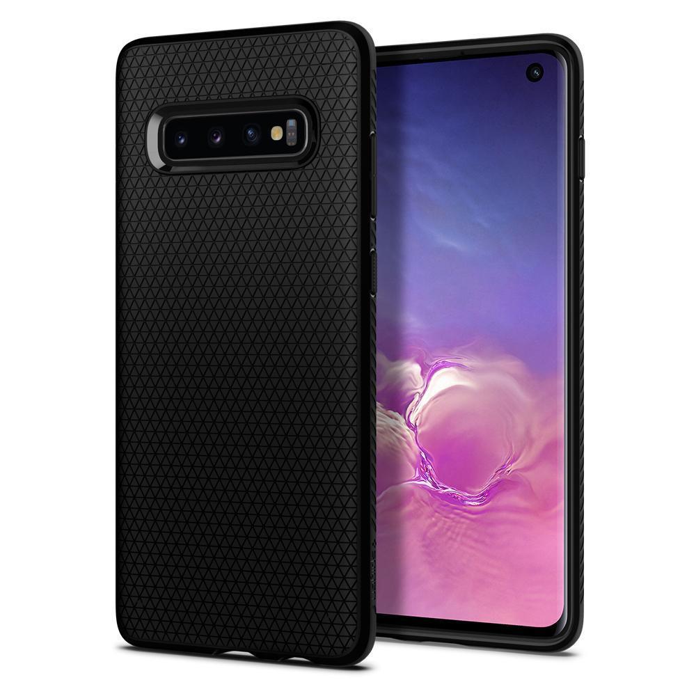 Galaxy S10 Case Liquid Air Black