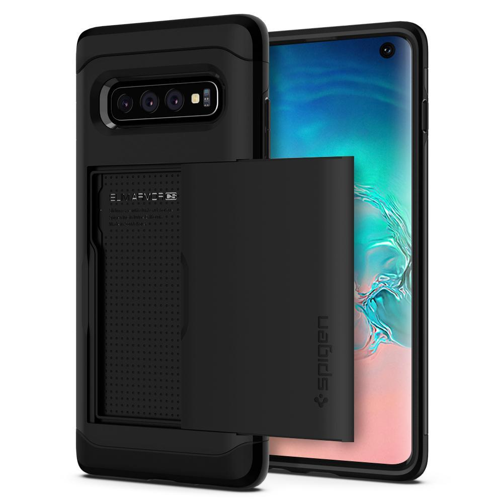 Galaxy S10 Case Slim Armor CS Black