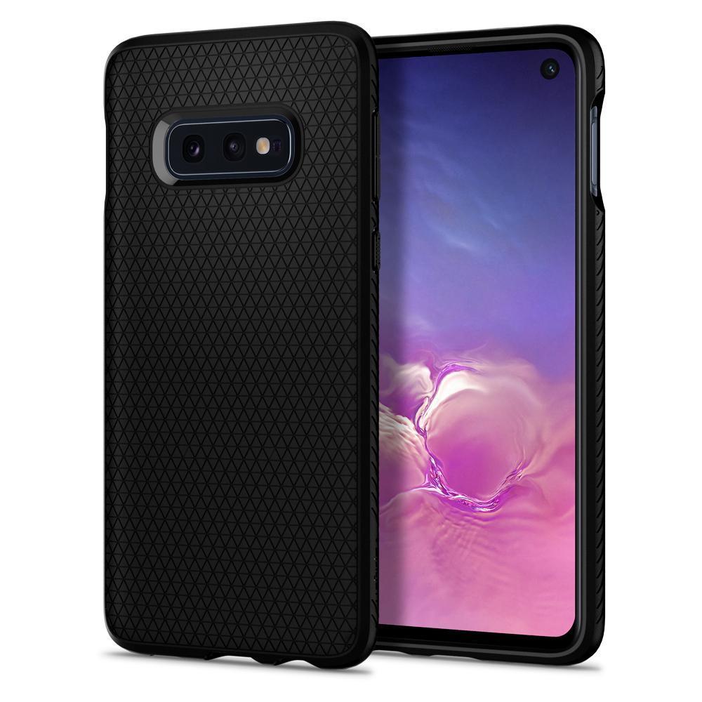Galaxy S10e Case Liquid Air Black