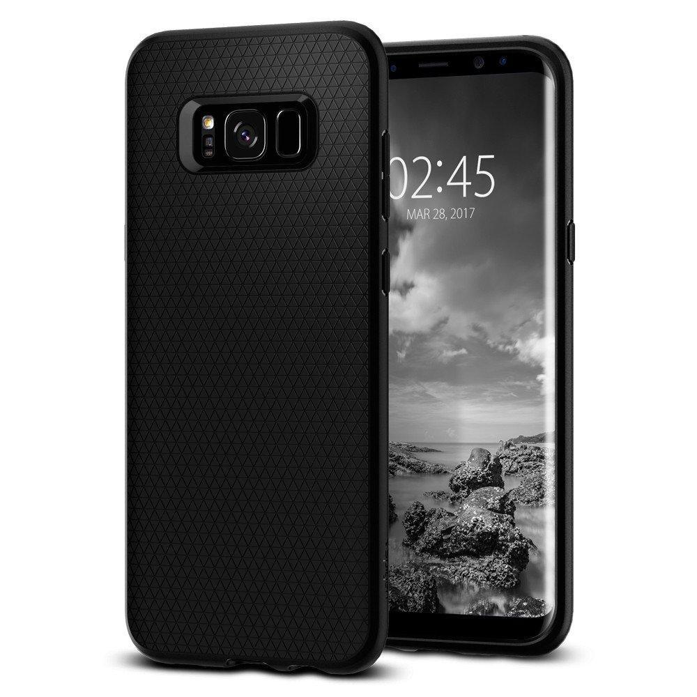 Galaxy S8 Case Liquid Air Black