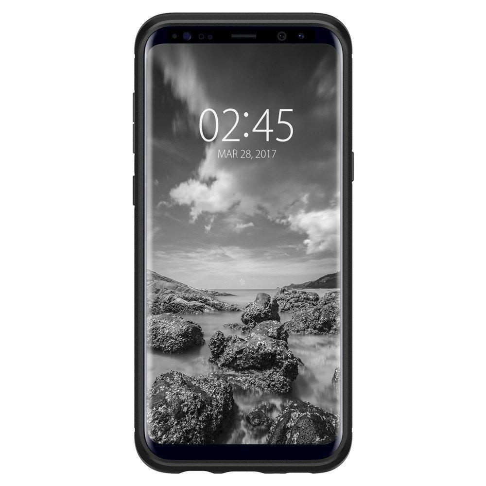 Galaxy S8 Rugged Armor Case Black