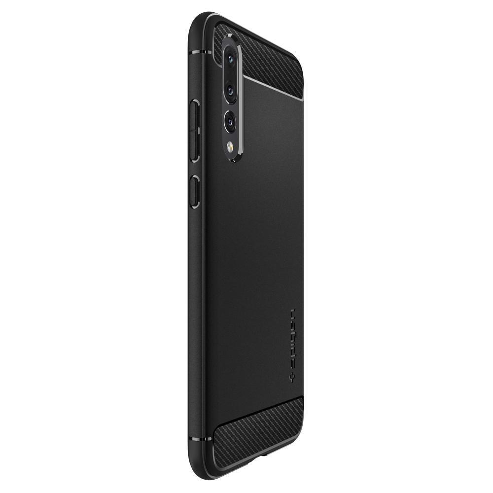 Huawei P20 Pro Case Rugged Armor Black