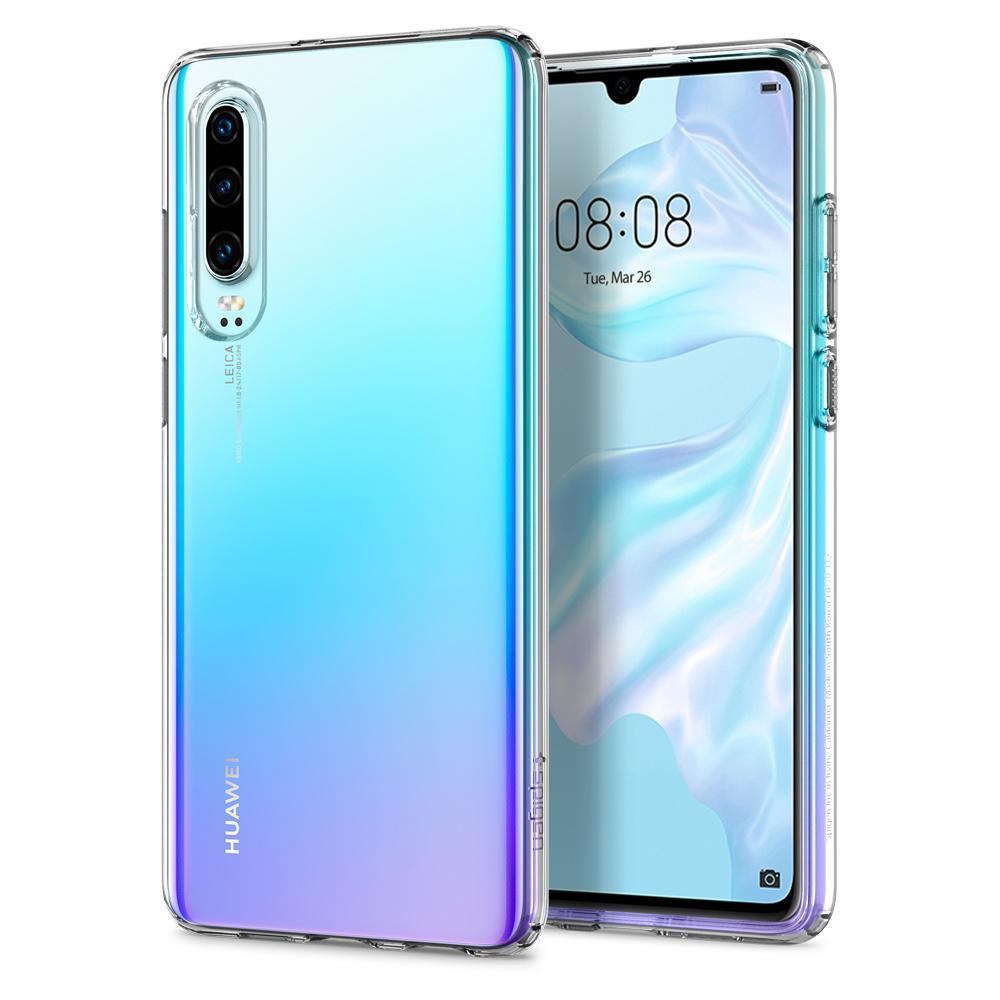 Huawei P30 Case Liquid Crystal Clear