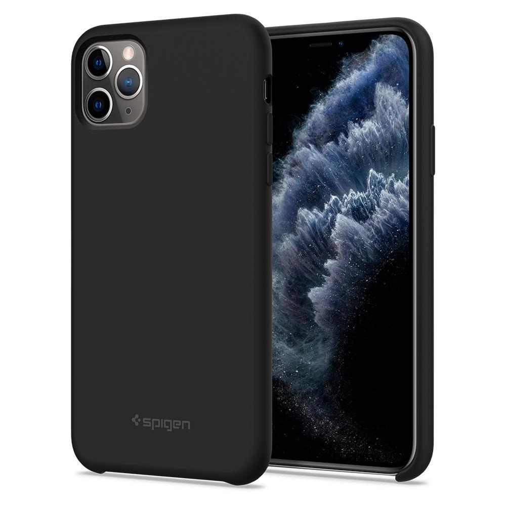 iPhone 11 Pro Case Silicone Fit Black