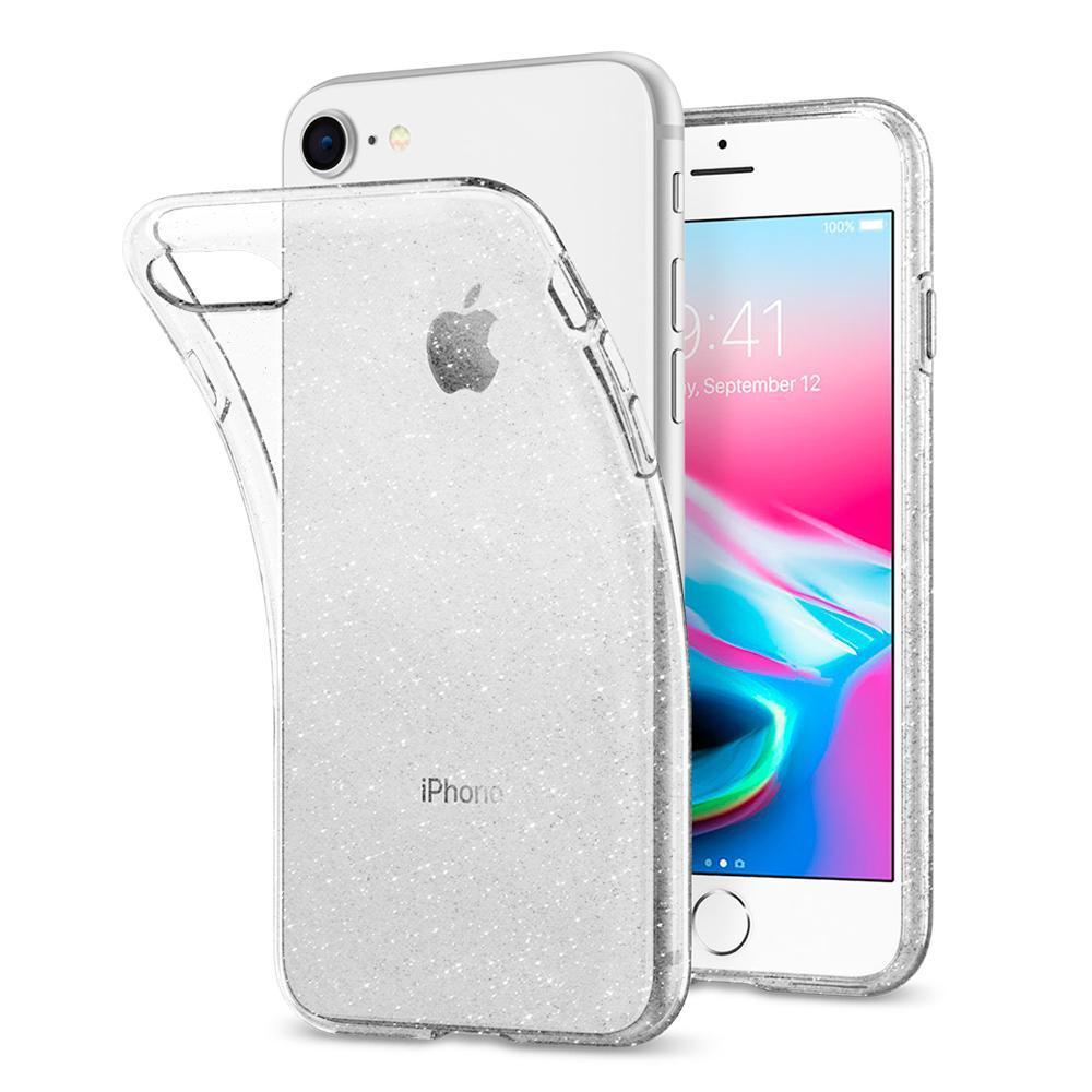 iPhone 7/8/SE 2020 Case Liquid Crystal Glitter Crystal Quartz