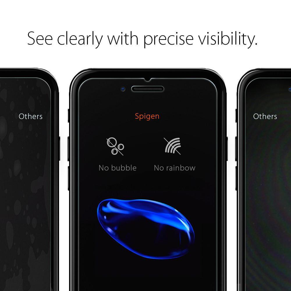 iPhone 7/8/SE 2020 Screen Protector GLAS.tR SLIM HD