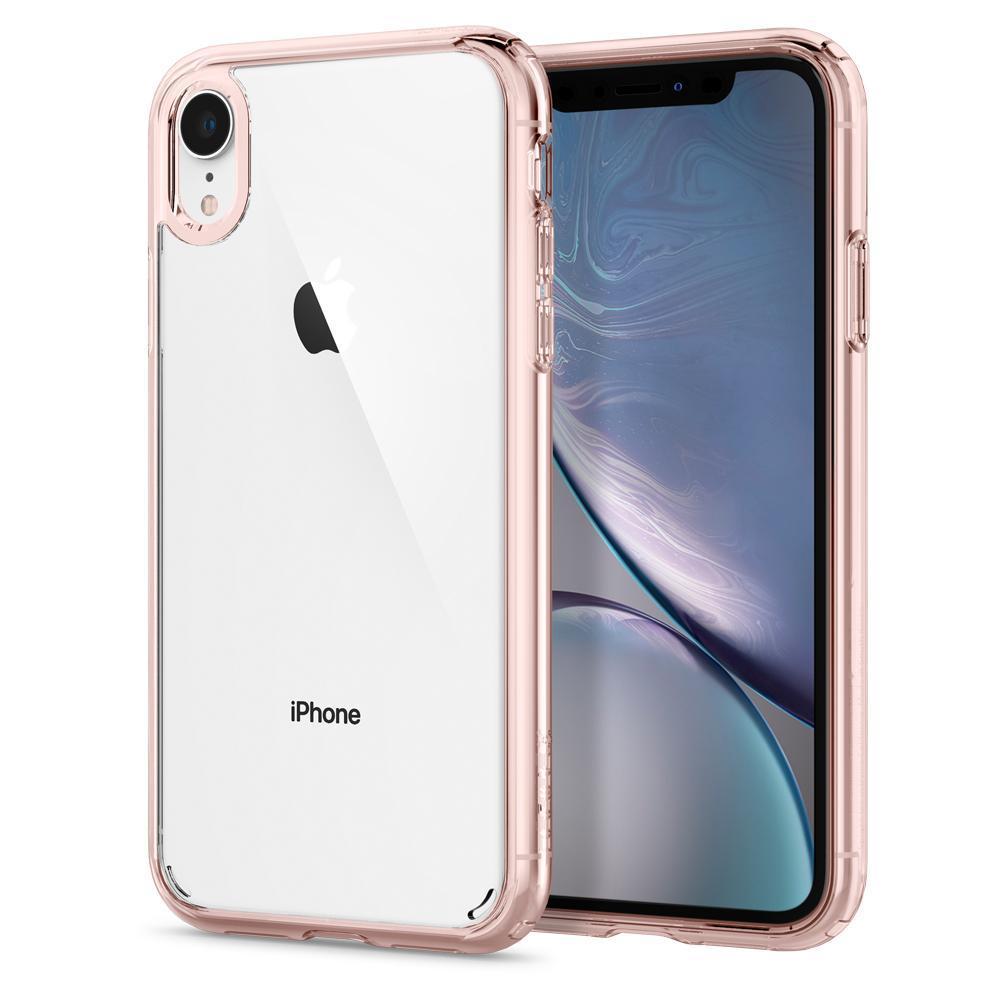 iPhone XR Case Ultra Hybrid Rose Crystal