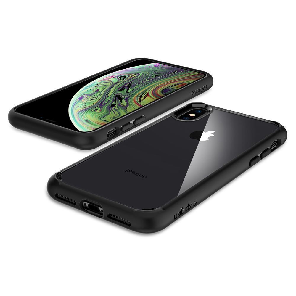 iPhone X/XS Case Ultra Hybrid Matte Black
