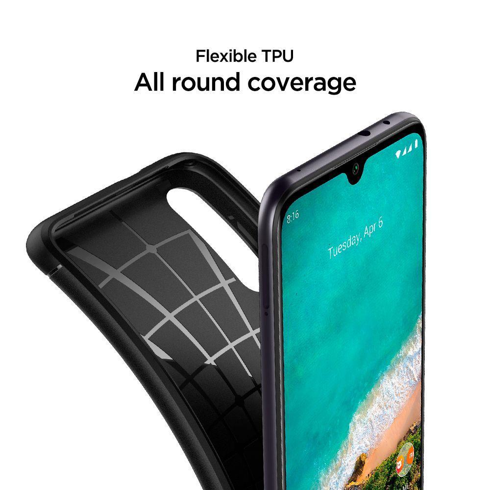 Xiaomi Mi A3 Case Rugged Armor Black