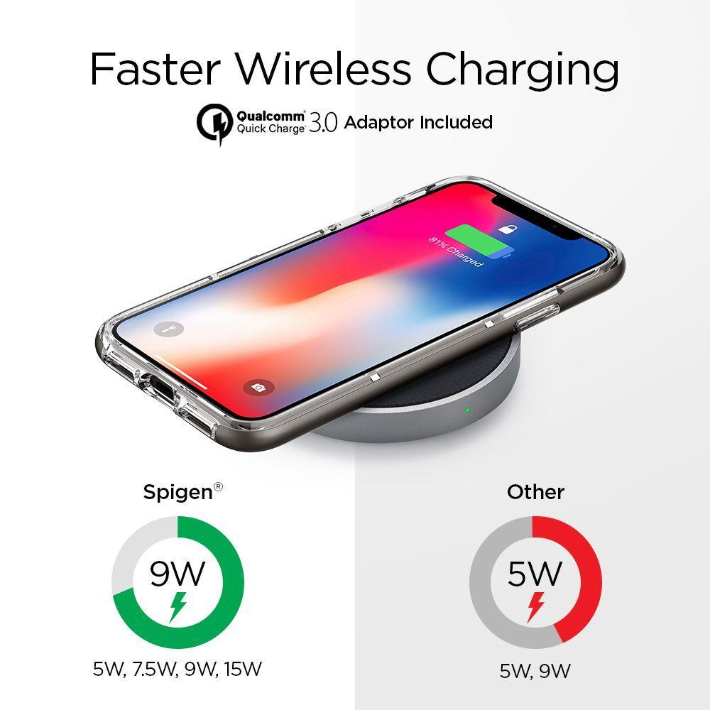 Essential F306W 15W Fast Wireless Qi Charger