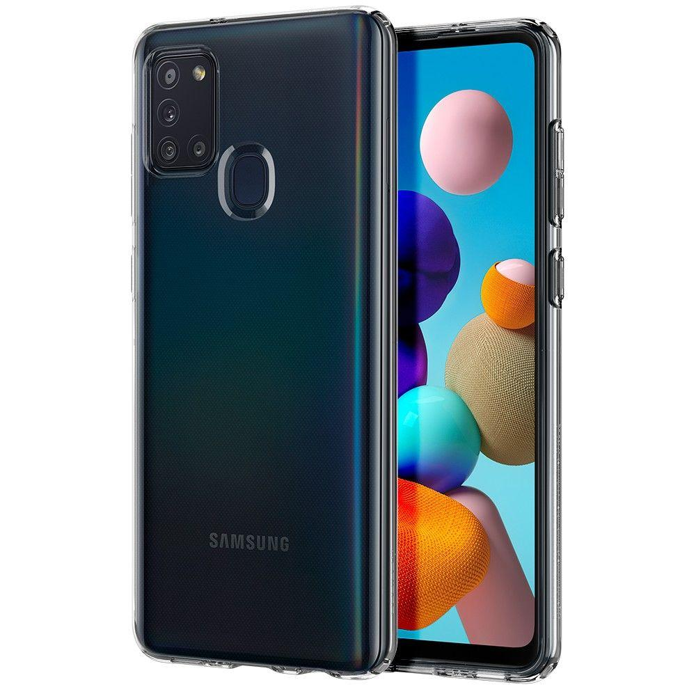 Galaxy A21s Case Liquid Crystal Clear