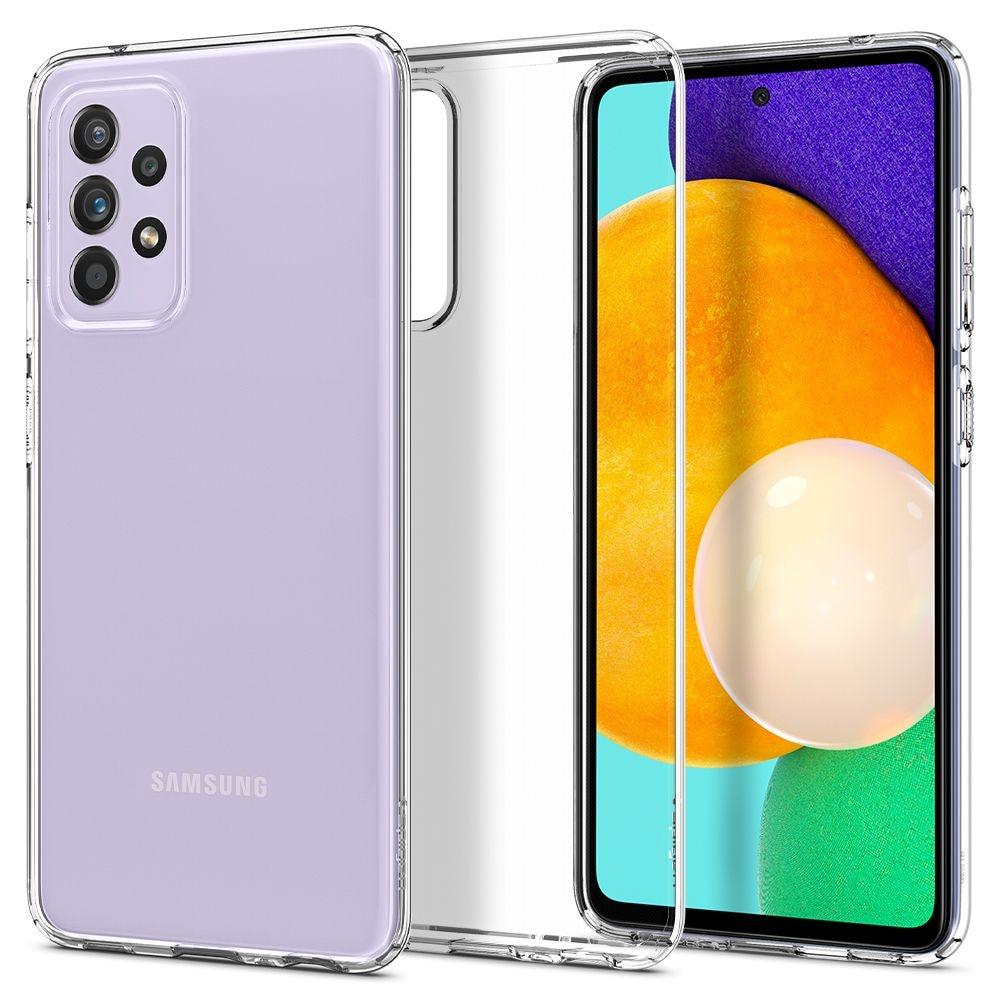 Galaxy A52 Case Liquid Crystal Clear