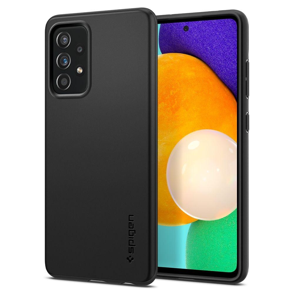 Galaxy A52 4G/5G Case Thin Fit Black