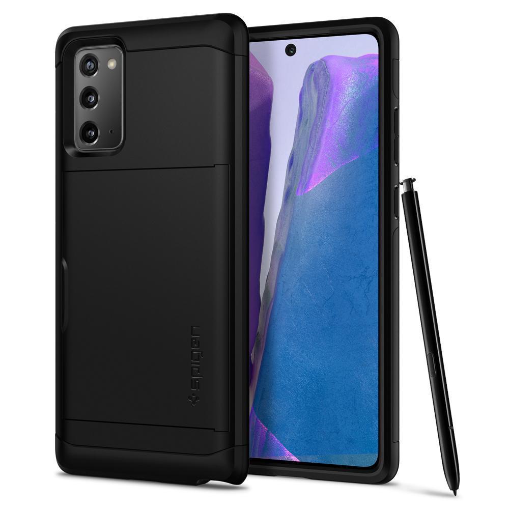 Galaxy Note 20 Case Slim Armor CS Black