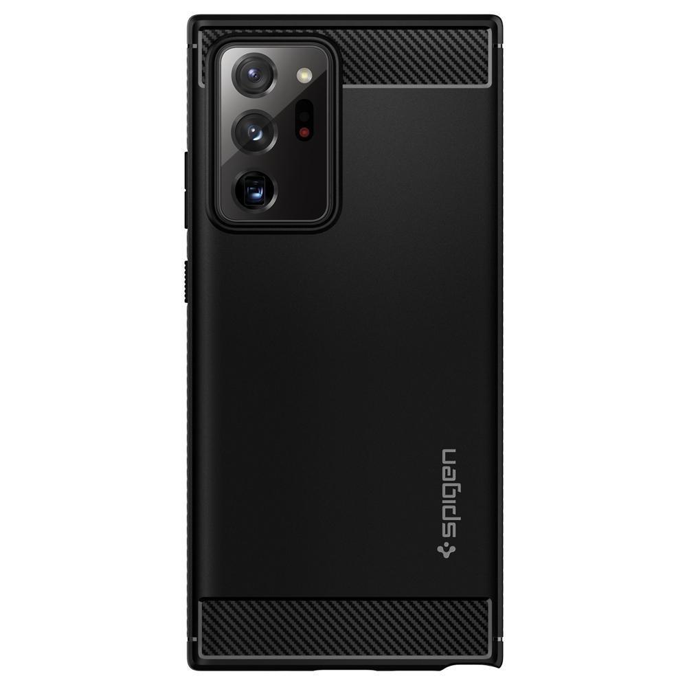 Galaxy Note 20 Ultra Case Rugged Armor Black