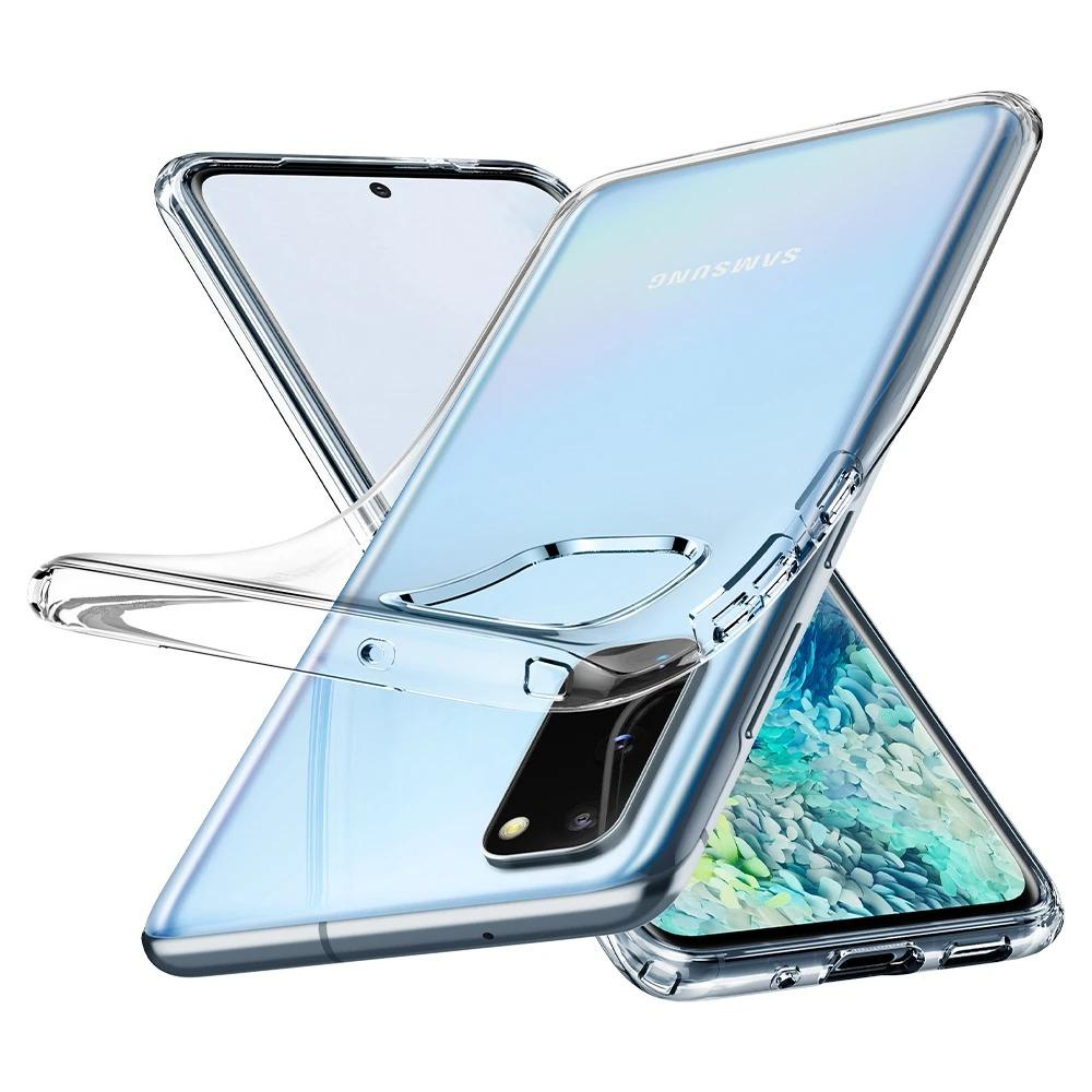 Galaxy S20 Case Liquid Crystal Clear