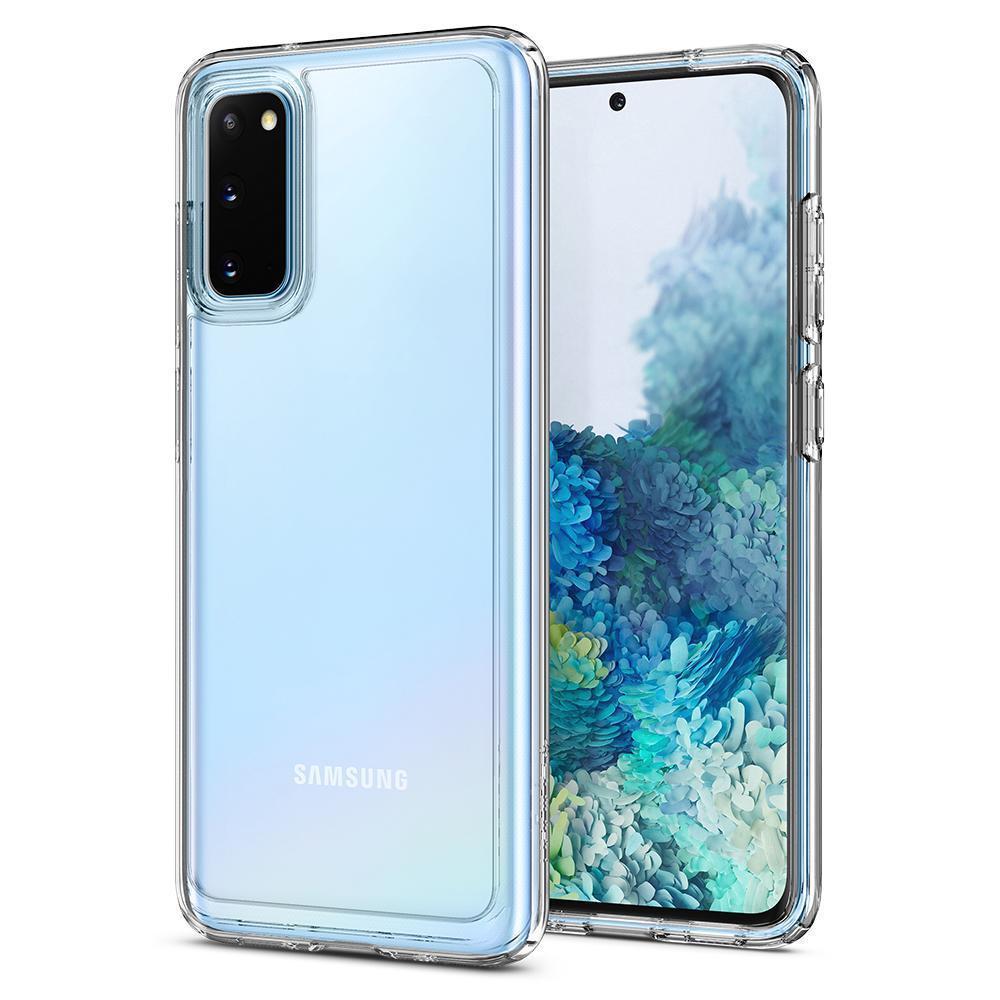 Galaxy S20 Case Ultra Hybrid Crystal Clear