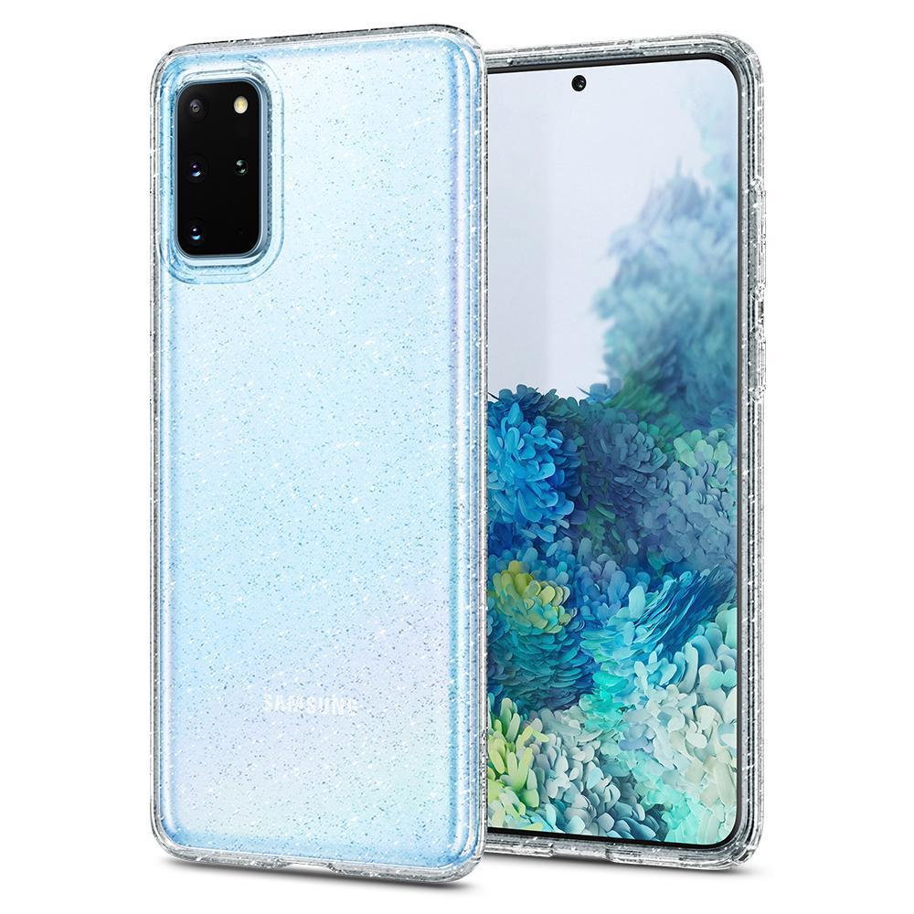 Galaxy S20 Plus Case Liquid Crystal Glitter Crystal