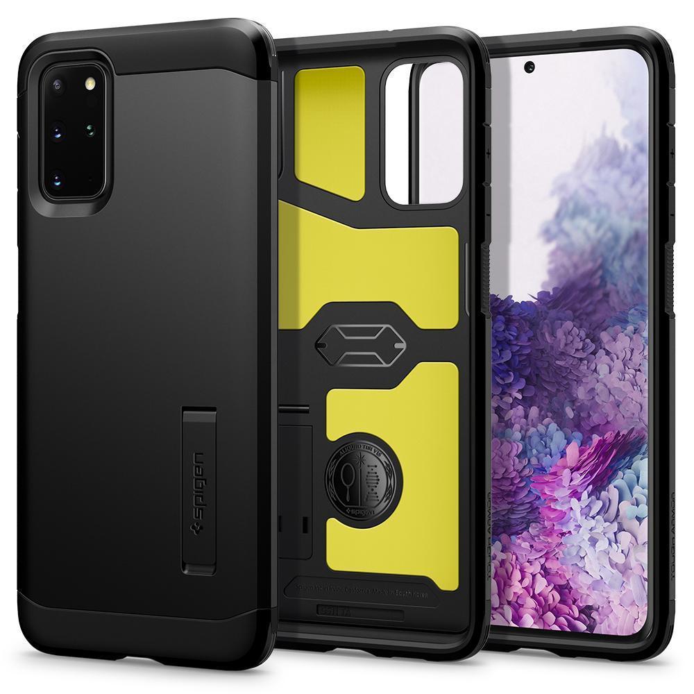 Galaxy S20 Plus Case Tough Armor Black
