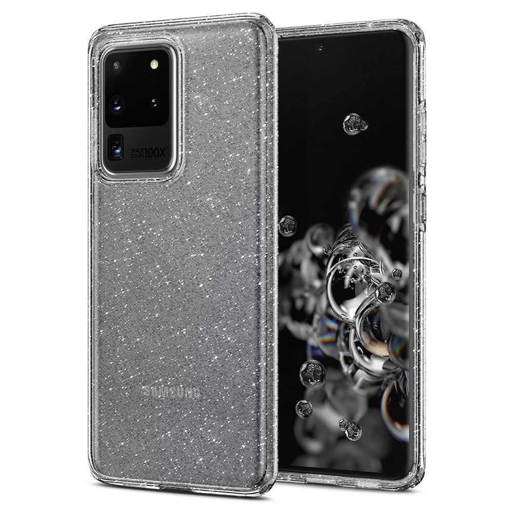 Galaxy S20 Ultra Case Liquid Crystal Glitter Crystal