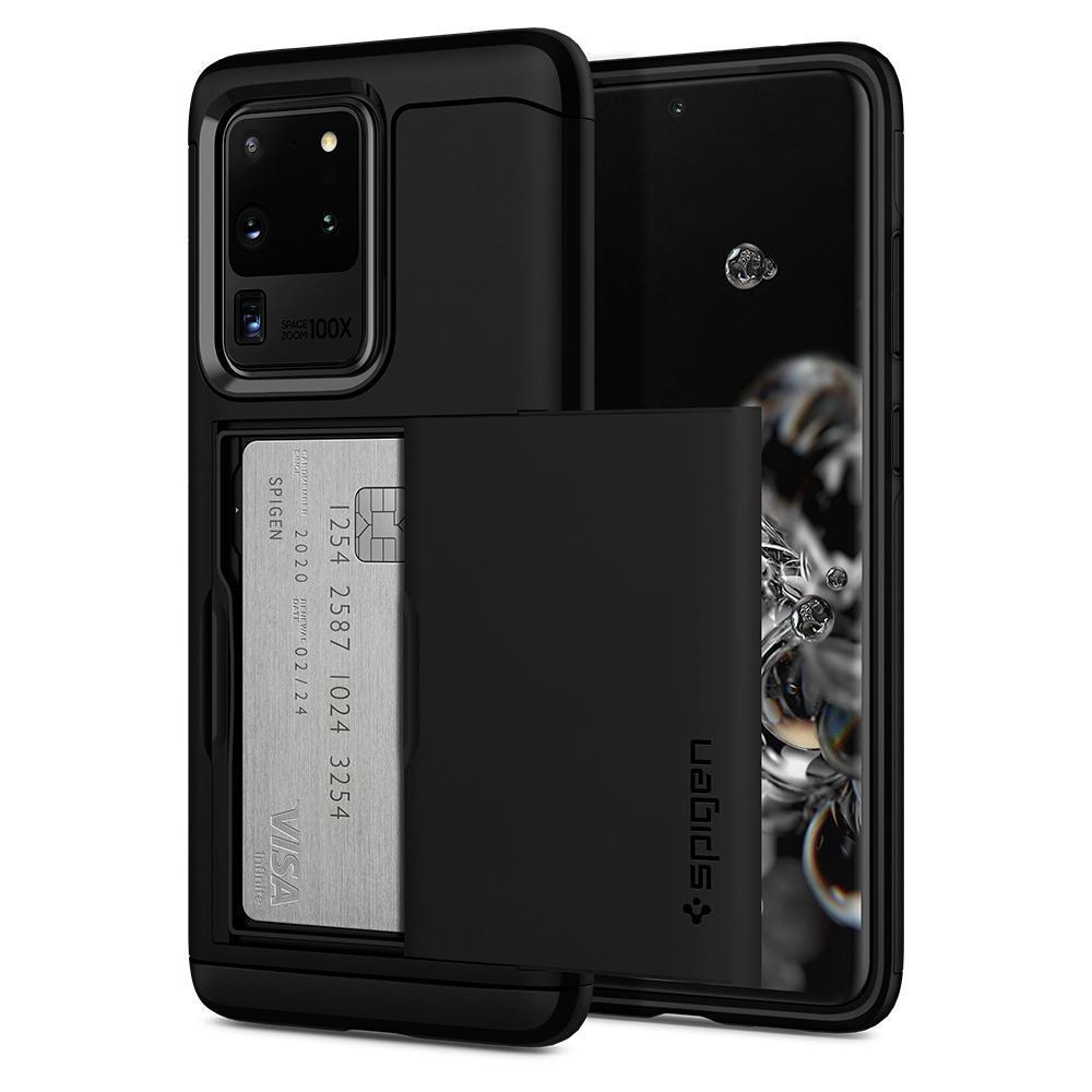 Galaxy S20 Ultra Case Slim Armor CS Black