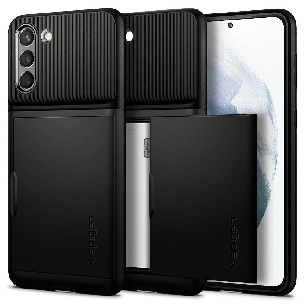 Galaxy S21 Case Slim Armor CS Black
