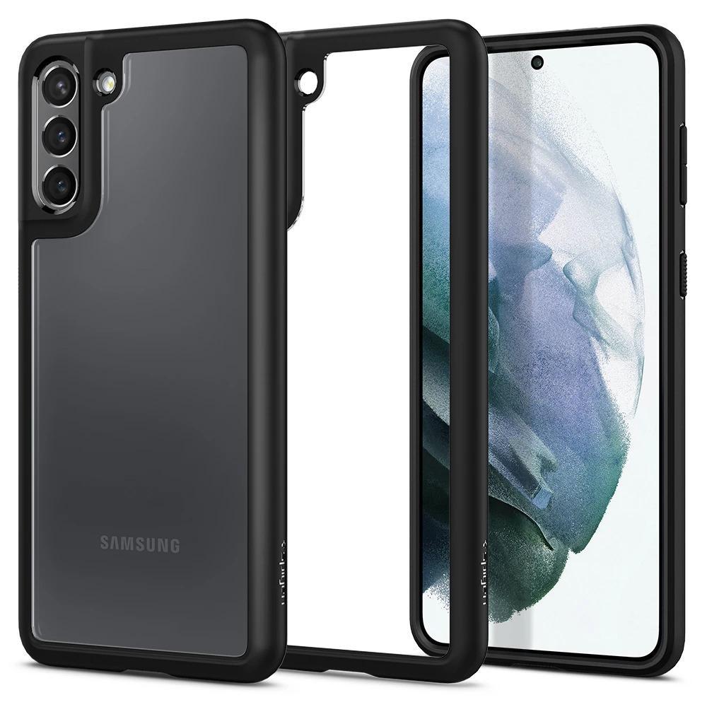 Galaxy S21 Case Ultra Hybrid Matte Black
