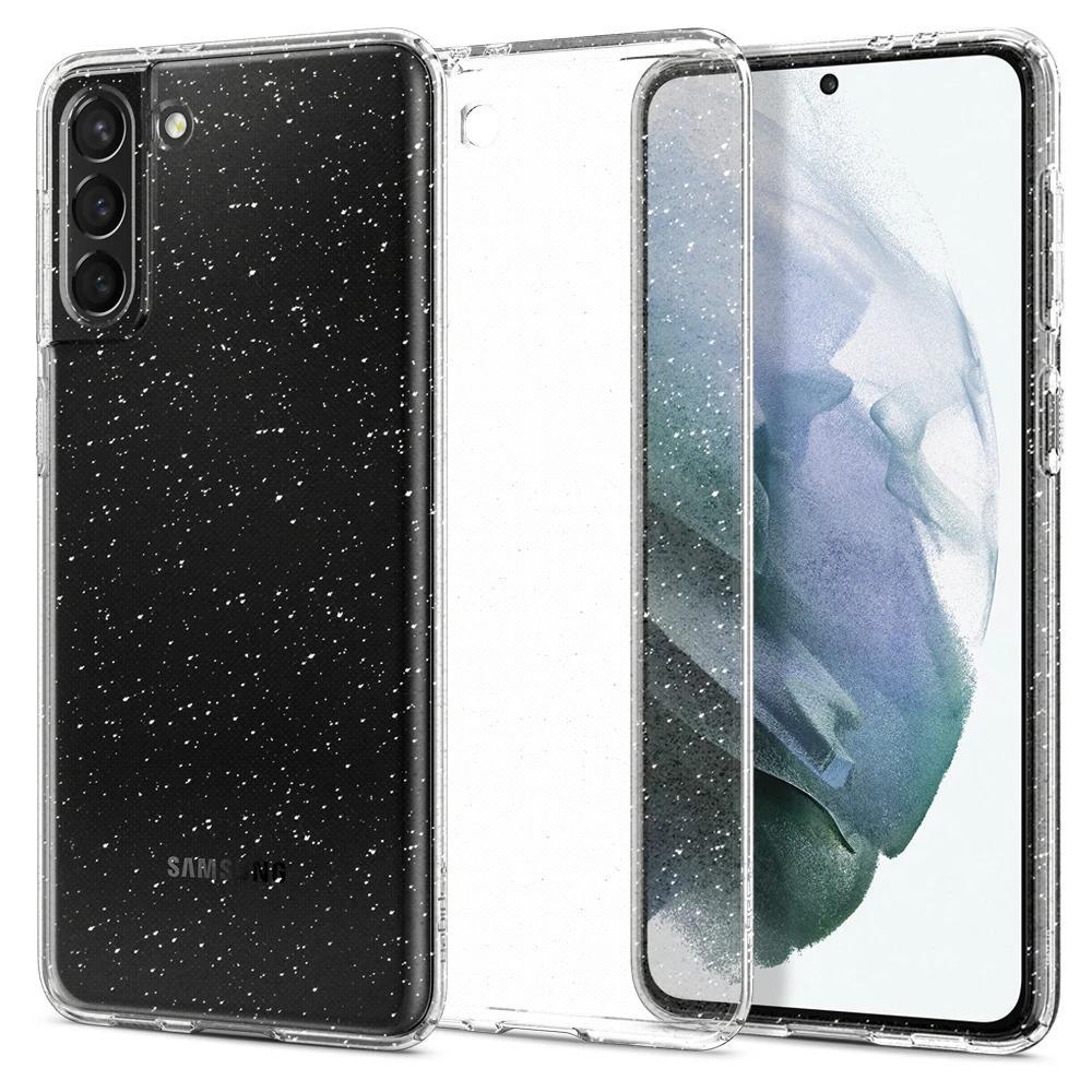 Galaxy S21 Plus Case Liquid Crystal Glitter Crystal