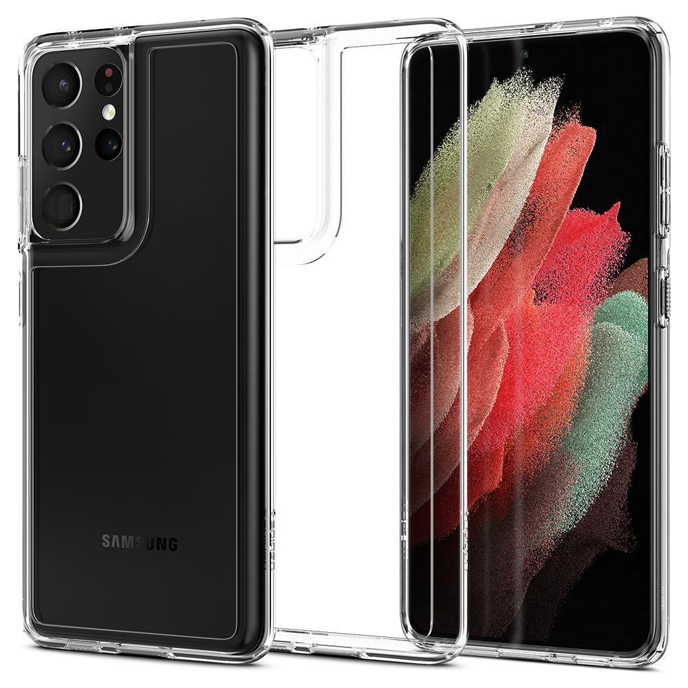 Galaxy S21 Ultra Case Ultra Hybrid Crystal Clear