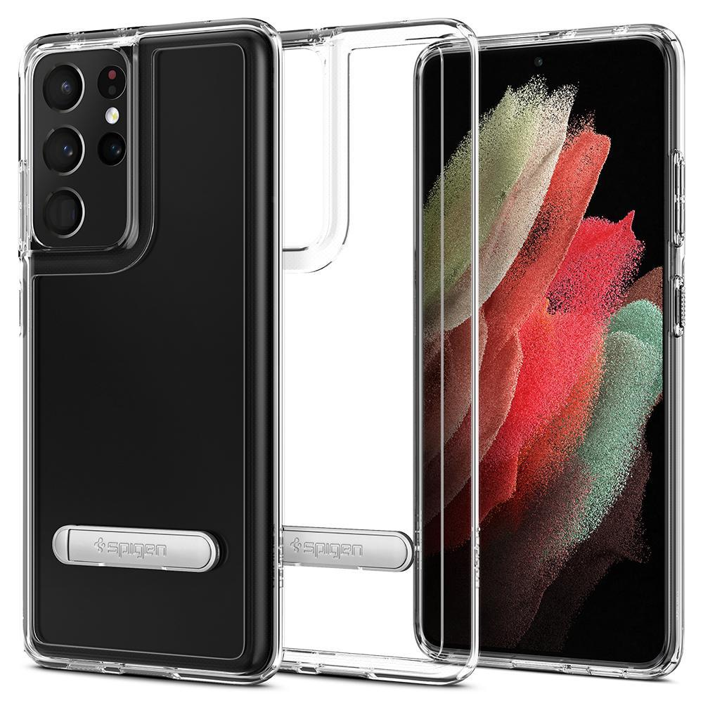 Galaxy S21 Ultra Case Ultra Hybrid S Crystal Clear