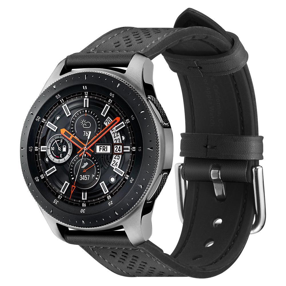 Galaxy Watch 46mm Armband Retro Fit Black