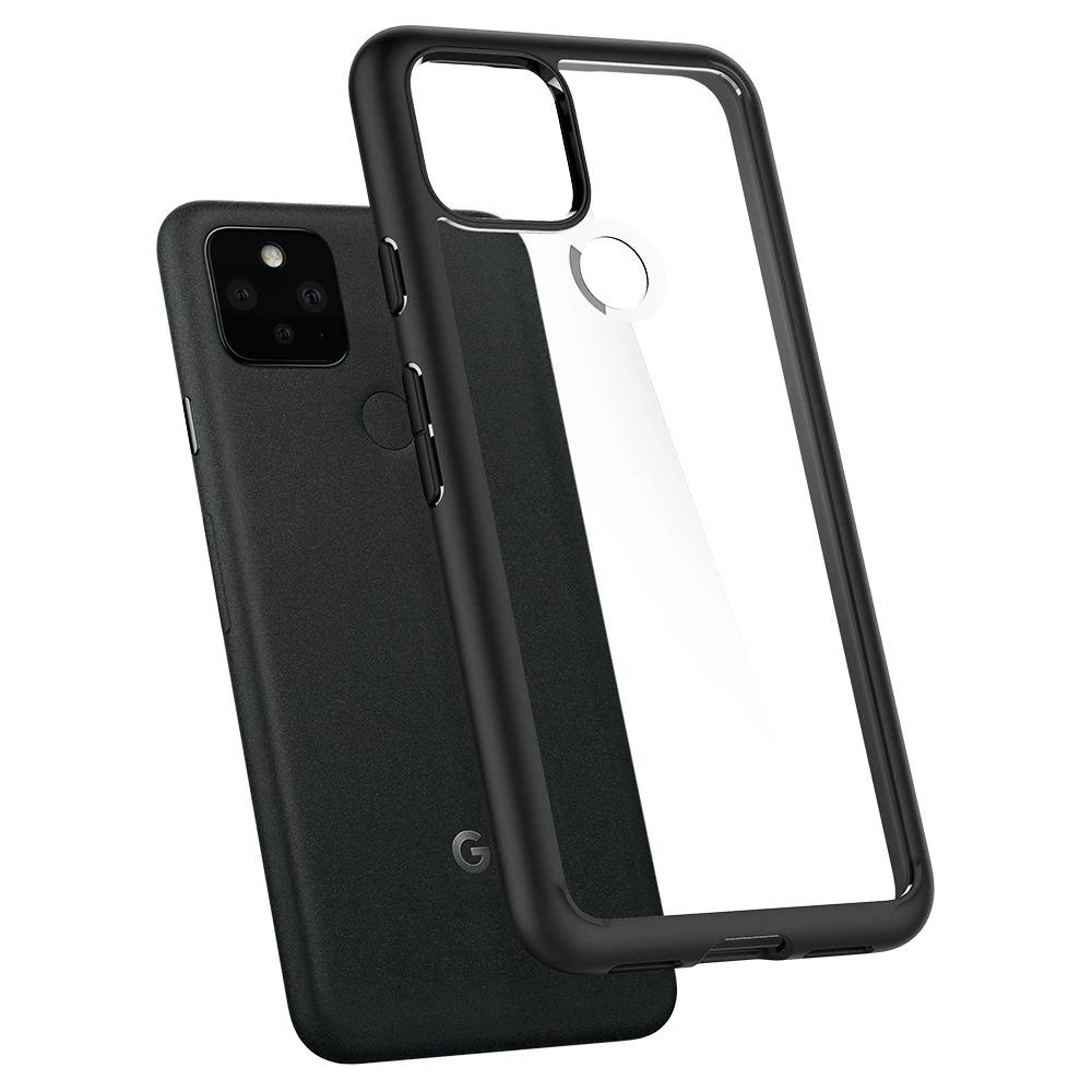 Google Pixel 5 Case Ultra Hybrid Matte Black