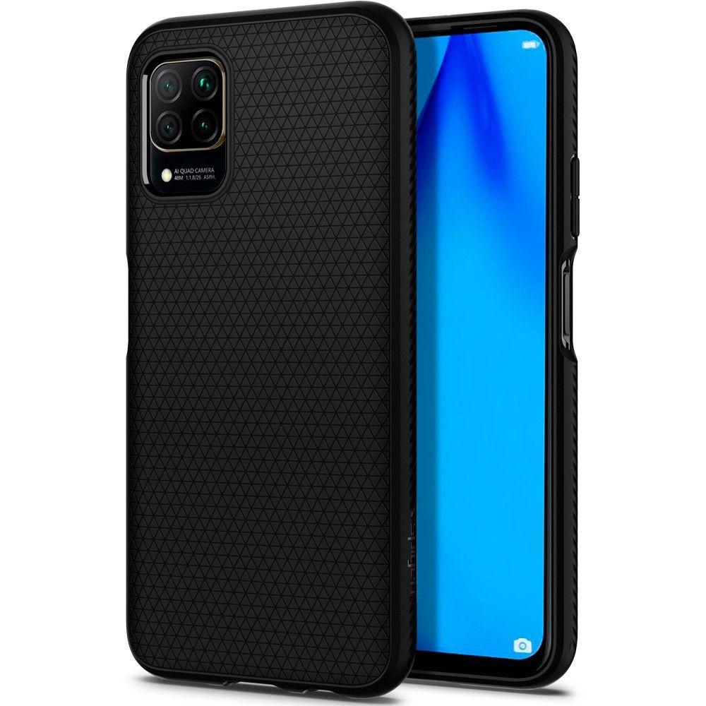 Huawei P40 Lite Case Liquid Air Black