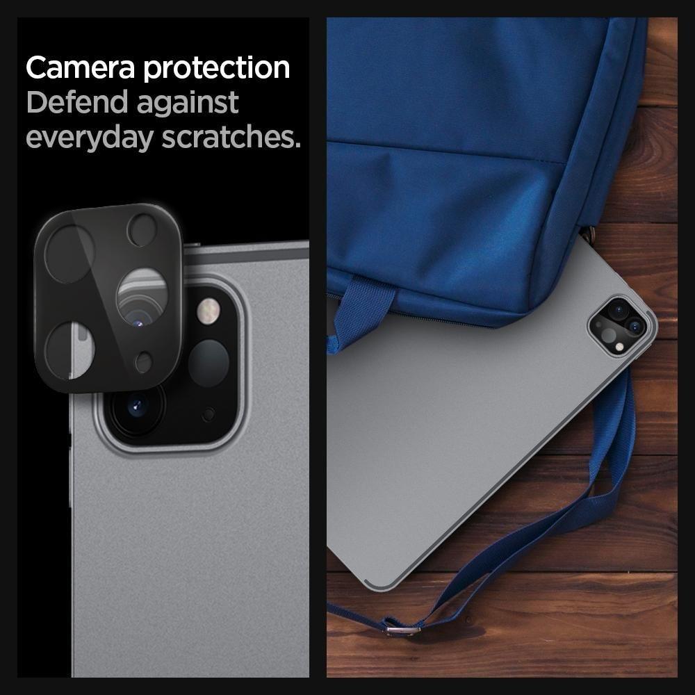iPad Pro 11/12.9 2020/2021 Camera Lens Protector Black (2-pack)