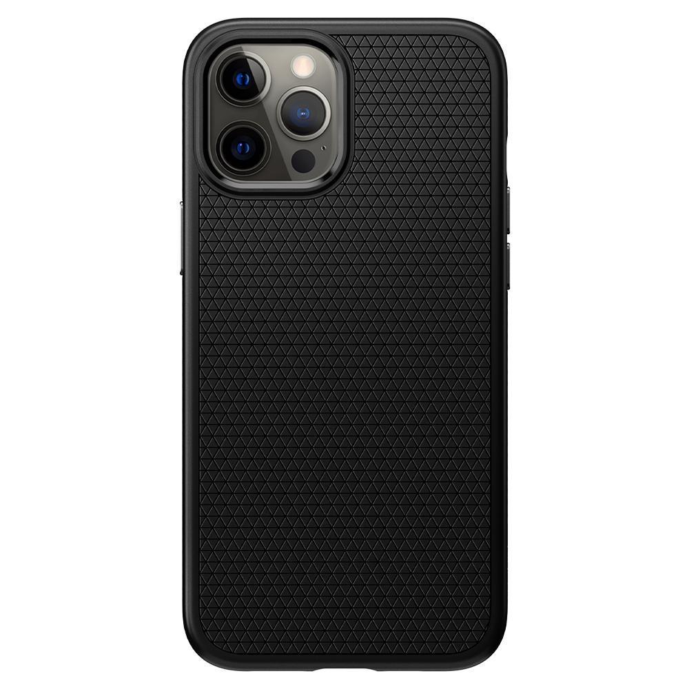 iPhone 12/12 Pro Case Liquid Air Black