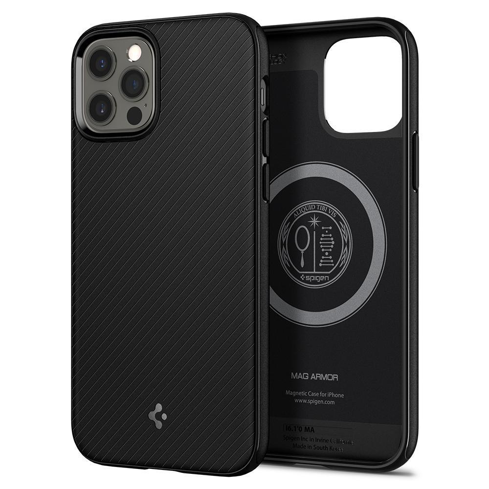 iPhone 12/12 Pro Case Mag Armor Black