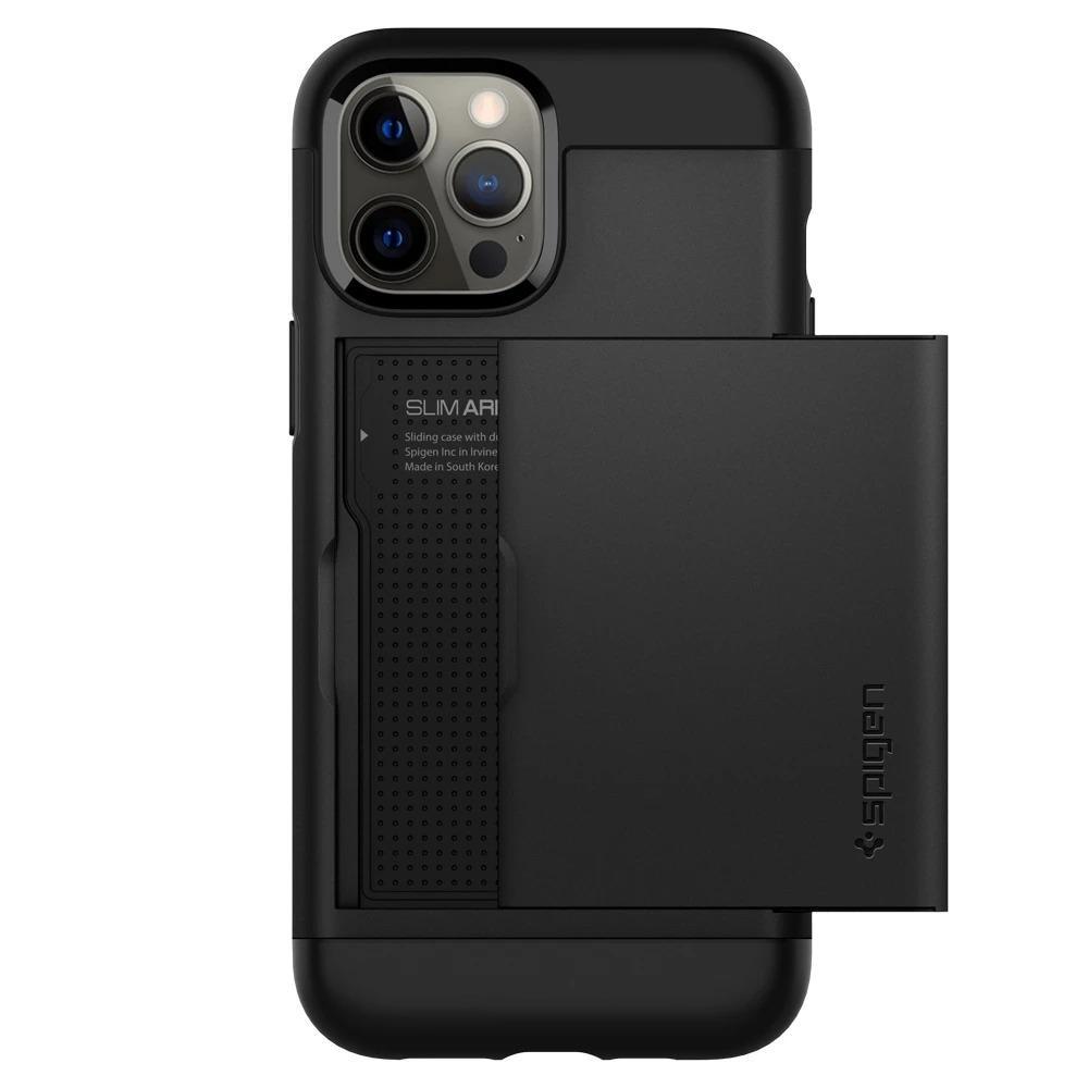 iPhone 12/12 Pro Case Slim Armor CS Black