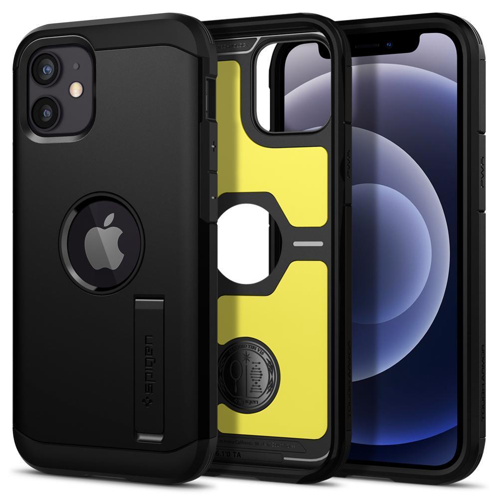 iPhone 12 Mini Case Tough Armor Black