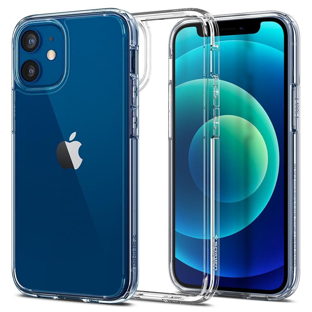 iPhone 12 Mini Case Ultra Hybrid Crystal Clear