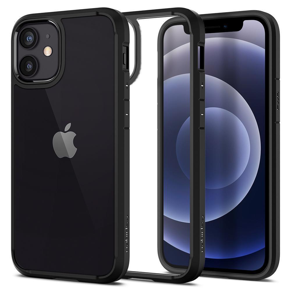 iPhone 12 Mini Case Ultra Hybrid Matte Black