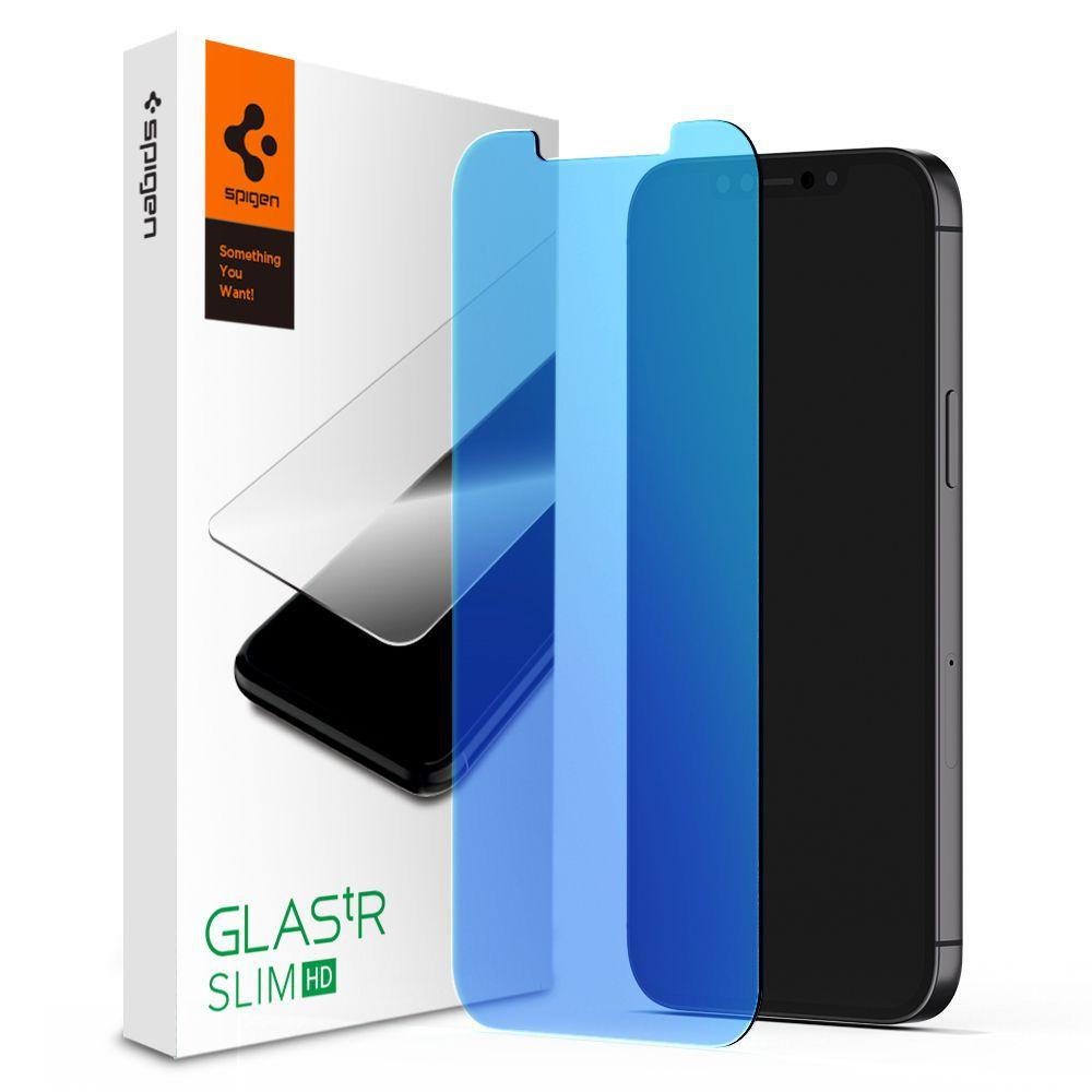 iPhone 12 Mini Screen Protector GLAS.tR SLIM HD Anti Blue