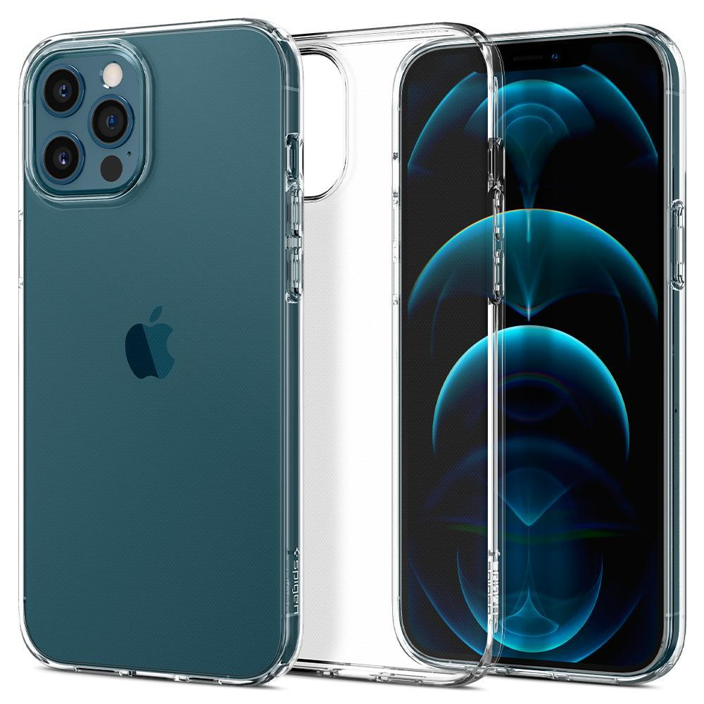 iPhone 12 Pro Max Case Liquid Crystal Clear