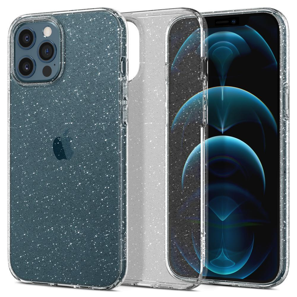 iPhone 12 Pro Max Case Liquid Crystal Glitter Crystal