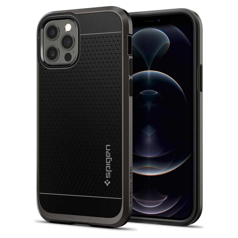 iPhone 12 Pro Max Case Neo Hybrid Gunmetal