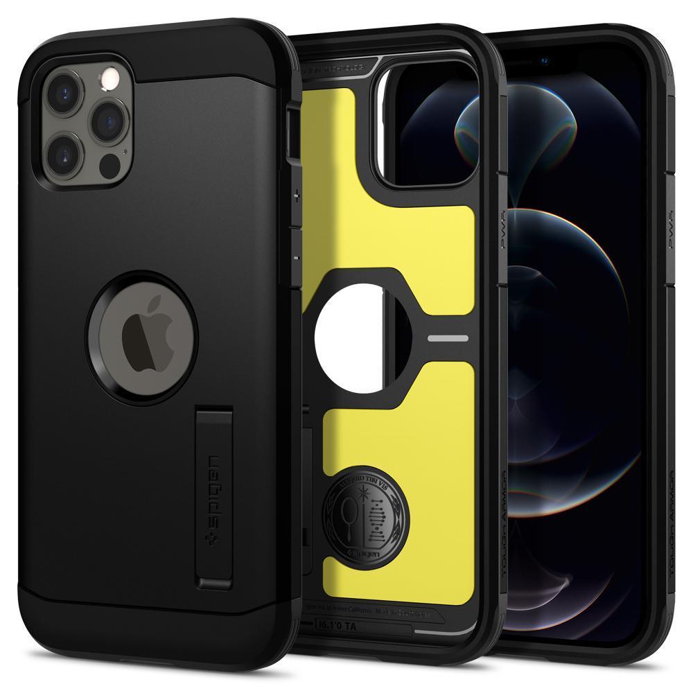 iPhone 12 Pro Max Case Tough Armor Black