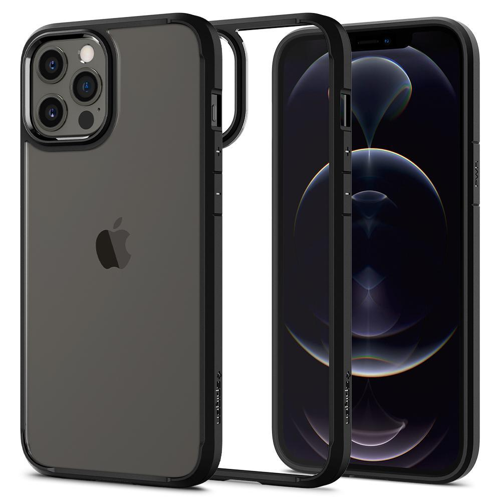 iPhone 12 Pro Max Case Ultra Hybrid Matte Black